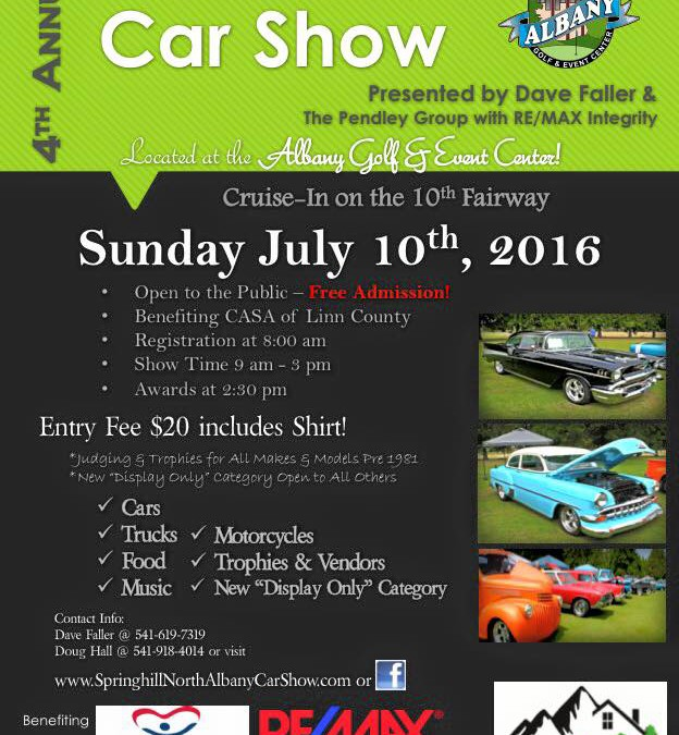 4th Annual Springhill North Albany Car Show